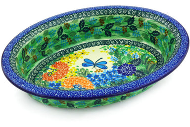"12"" Oval Baker - Whimsical 