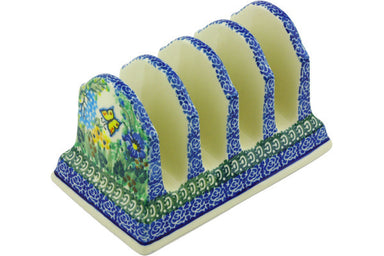 "4"" Toast Holder - Spring Garden 