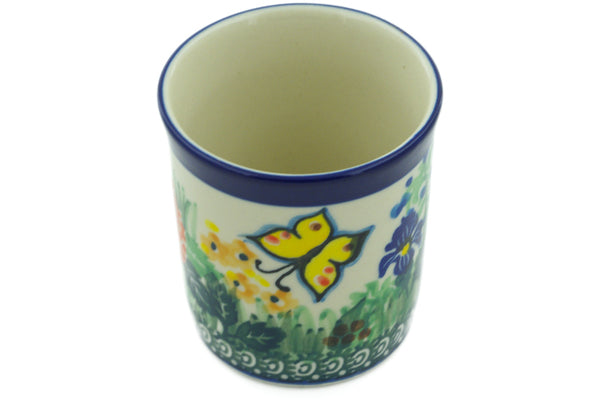 3 oz Tumbler - Spring Garden | Polish Pottery House