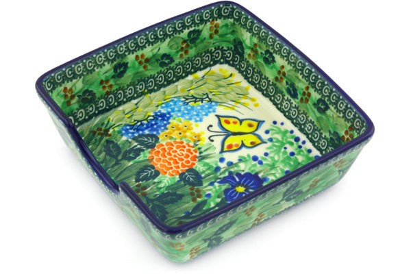"2"" Napkin Holder - Spring Garden 