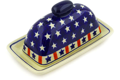 "8"" Butter Dish - Americana 
