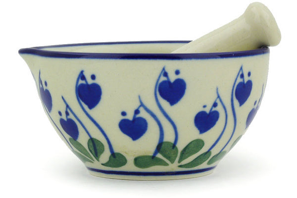 "3"" Mortar and Pestle - Blue Bell 
