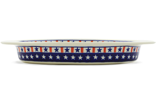 "17"" Oval Baker with Handles - Americana 