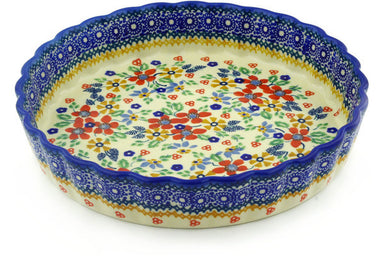 "10"" Fluted Pie Plate - DPCS 