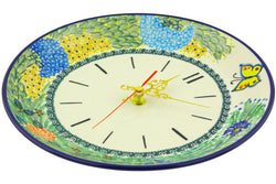 "11"" Clock - Spring Garden 