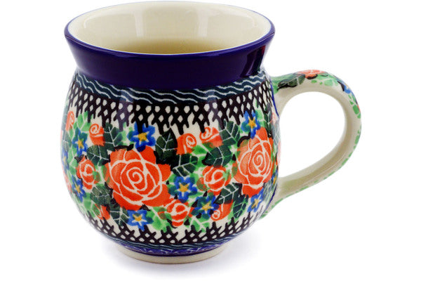 12 oz Bubble Mug - U1746 | Polish Pottery House