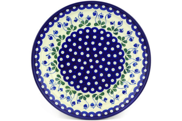 5 cup Serving Bowl - Blue Bell | Polish Pottery House