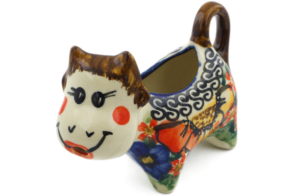 1 oz Cow Shaped Creamer - Autumn Wonder | Polish Pottery House