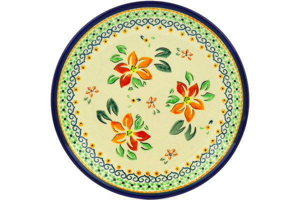 "8"" Salad Plate - Heart Blossom 