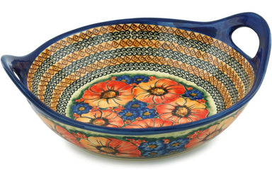 "12"" Serving Bowl with Handles - Autumn Wonder 