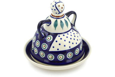 "6"" Cheese Lady - Peacock 