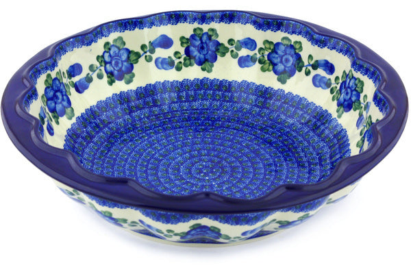 18 cup Fluted Bowl - Heritage | Polish Pottery House