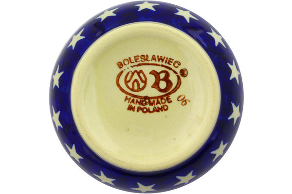 10 oz Sugar Bowl - Americana | Polish Pottery House