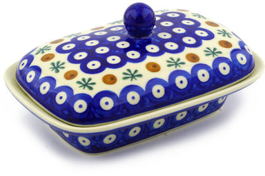 "7"" Butter Dish - Old Poland 