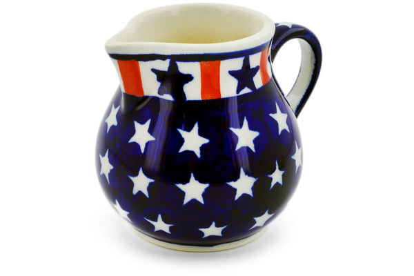 6 oz Creamer - Americana | Polish Pottery House