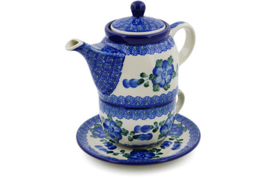 16 oz Tea for One - Heritage | Polish Pottery House