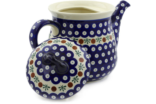 7 cup Tea Pot - Old Poland | Polish Pottery House