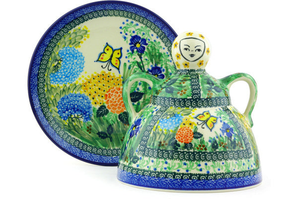 "8"" Cheese Lady - Spring Garden 