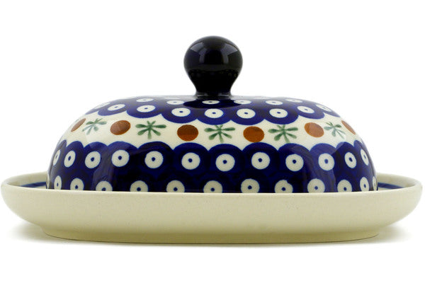 "8"" Butter Dish - Old Poland 