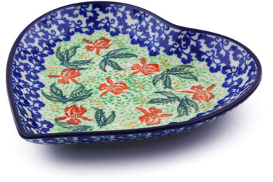 "7"" Heart Platter - P9249A 