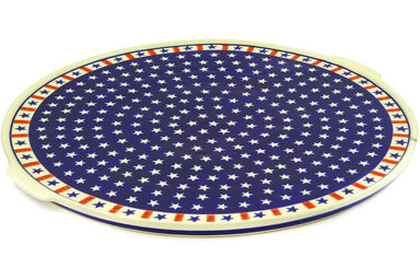 "16"" Pizza Plate - Americana 