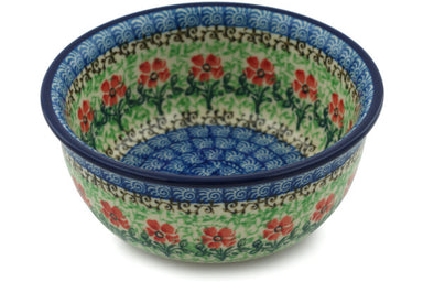 10 oz Dessert Bowl - Cosmos | Polish Pottery House