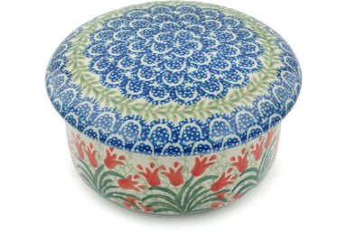 "2"" Round Box - Crimson Bells 