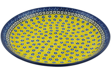 "11"" Dinner Plate - Blue Sunshine 