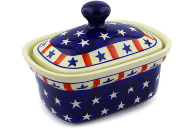 "6"" Butter Dish - Americana 