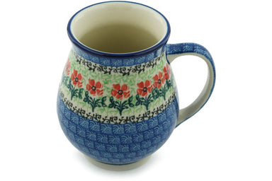 16 oz Mug - Cosmos | Polish Pottery House