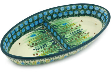 "9"" Divided Dish - U803 