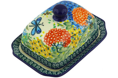 "6"" Butter Dish - Whimsical 