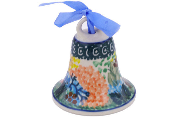 "3"" Bell Ornament - Whimsical 