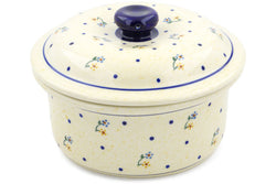 5 cup Covered Baker - 111 | Polish Pottery House