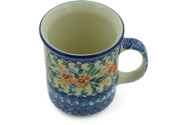 10 oz Mug - U1170 | Polish Pottery House