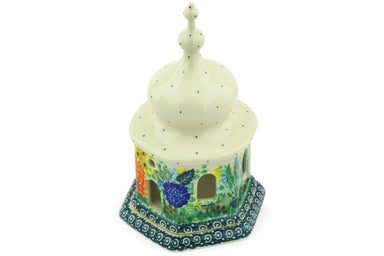 "7"" Chapel Candle Holder - Whimsical 