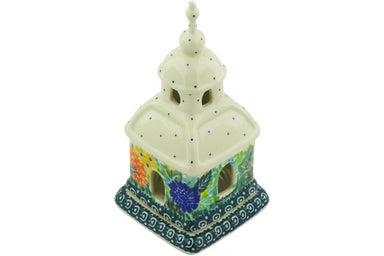 "6"" Chapel Candle Holder - Whimsical 