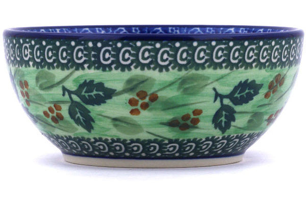 11 oz Dessert Bowl - Spring Garden | Polish Pottery House