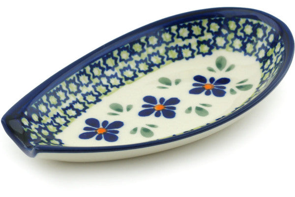 "5"" Spoon Rest - Emerald Mosaic 
