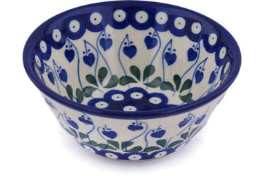 13 oz Cereal Bowl - Blue Bell | Polish Pottery House