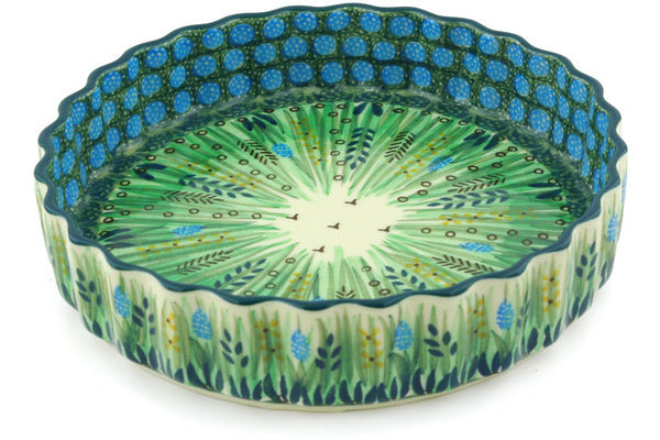 "8"" Fluted Pie Plate - U803 