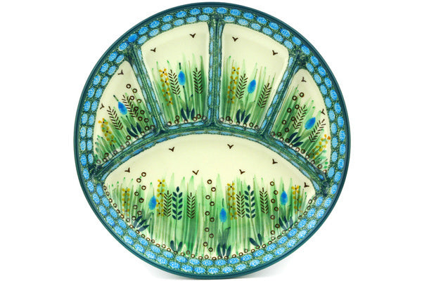 "10"" Divided Dish - U803 