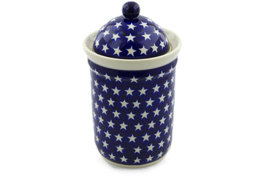 6 cup Canister - 82 | Polish Pottery House