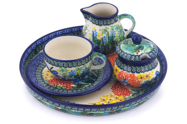 7 oz Dessert Set - Whimsical | Polish Pottery House