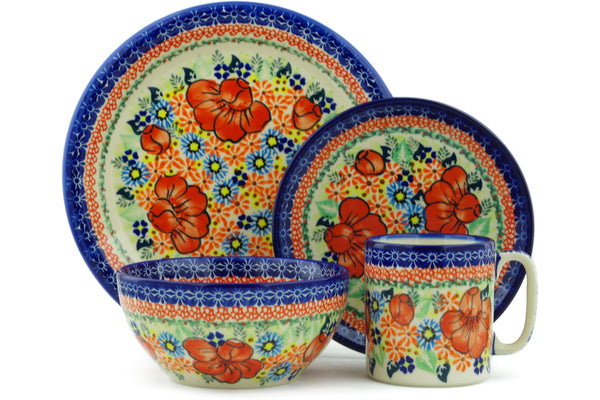 Place Setting - D117 | Polish Pottery House
