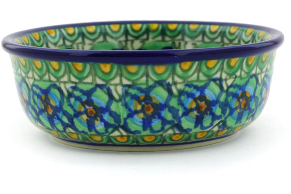 8 oz Dessert Bowl - Moonlight Blossom | Polish Pottery House