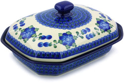 4 cup Covered Baker - Heritage | Polish Pottery House