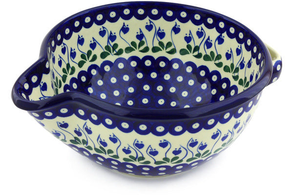 "10"" Batter Bowl - Blue Bell 