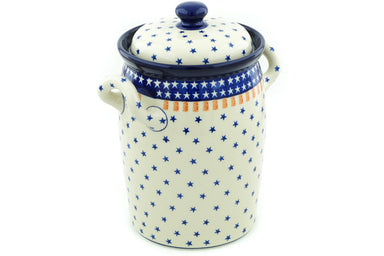 19 cup Canister - 179X | Polish Pottery House
