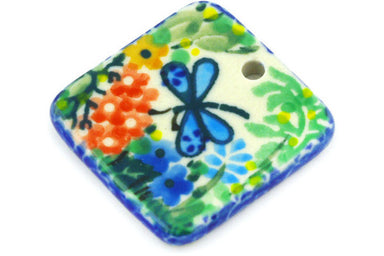 "1"" Square Pendant - Whimsical 